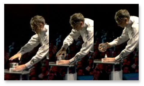 Bill Gates Releases Mosquitoes at TED 2009