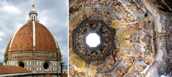The Dome of the Santa Maria del Fiore Cathedral