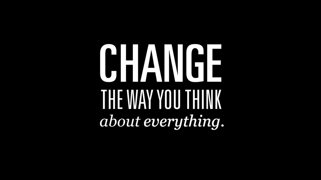 that change think about