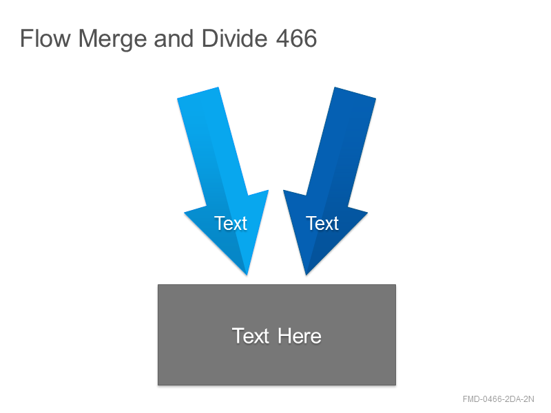 Flow Merge and Divide 466