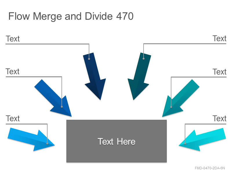 Flow Merge and Divide 470