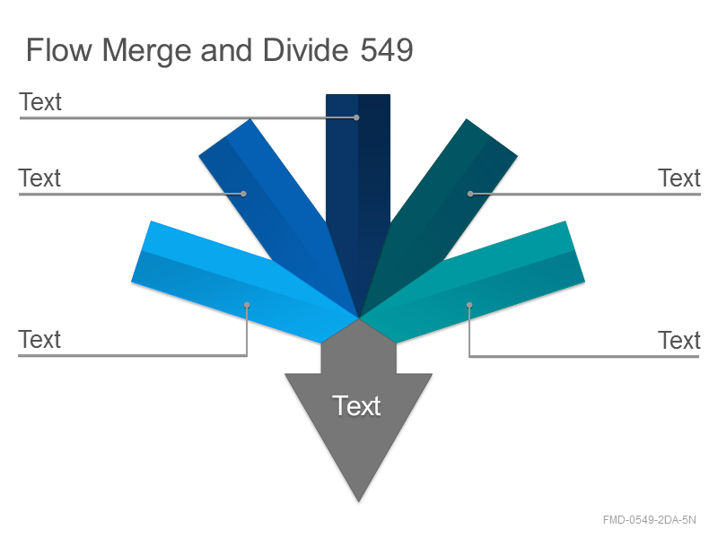 Flow Merge and Divide 549