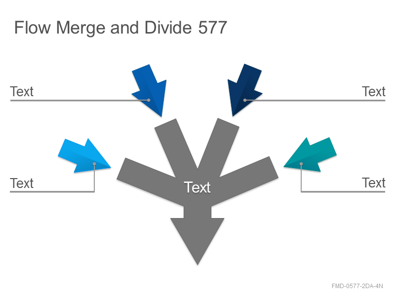 Flow Merge and Divide 577