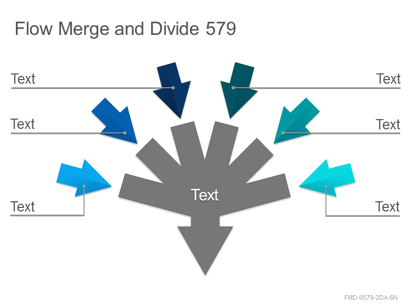 Flow Merge and Divide 579