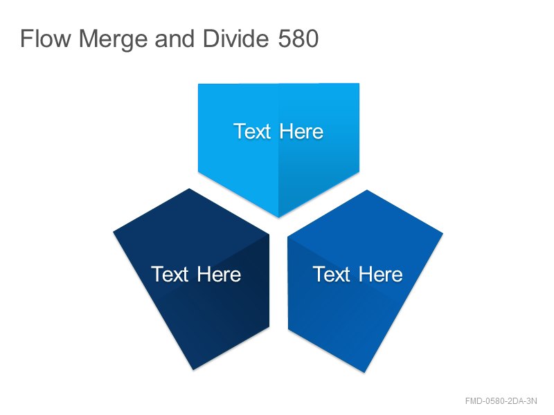 Flow Merge and Divide 580