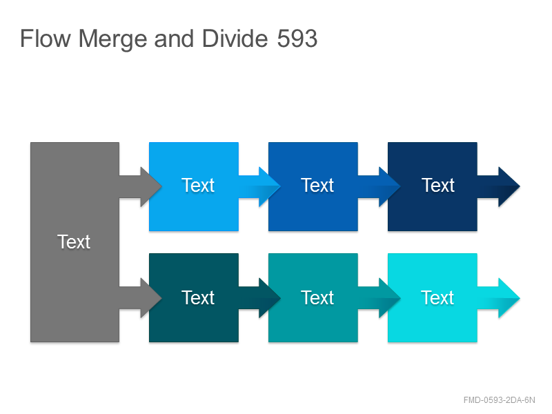 Flow Merge and Divide 593