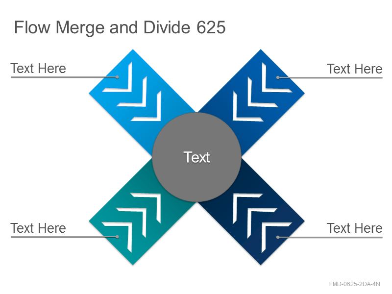 Flow Merge and Divide 625