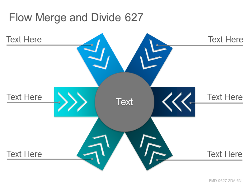 Flow Merge and Divide 627