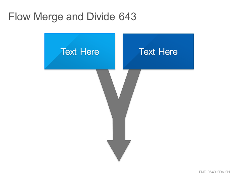 Flow Merge and Divide 643