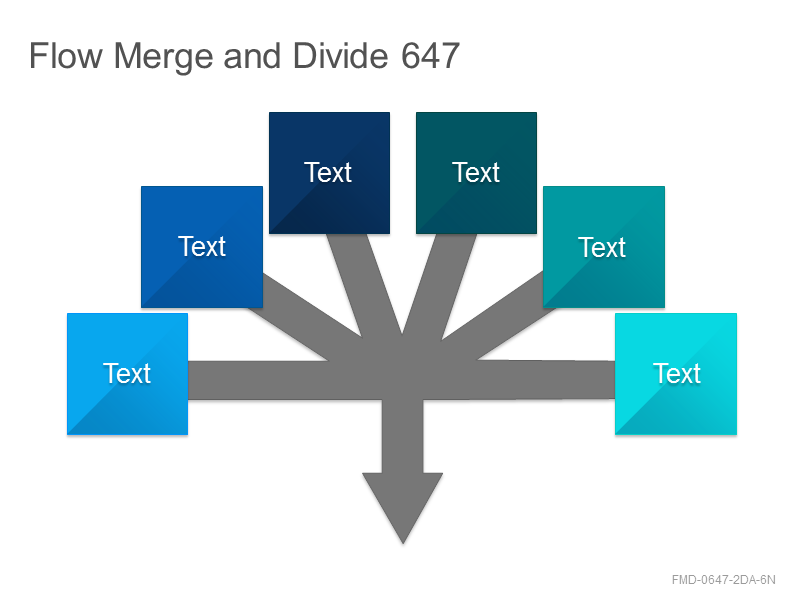 Flow Merge and Divide 647