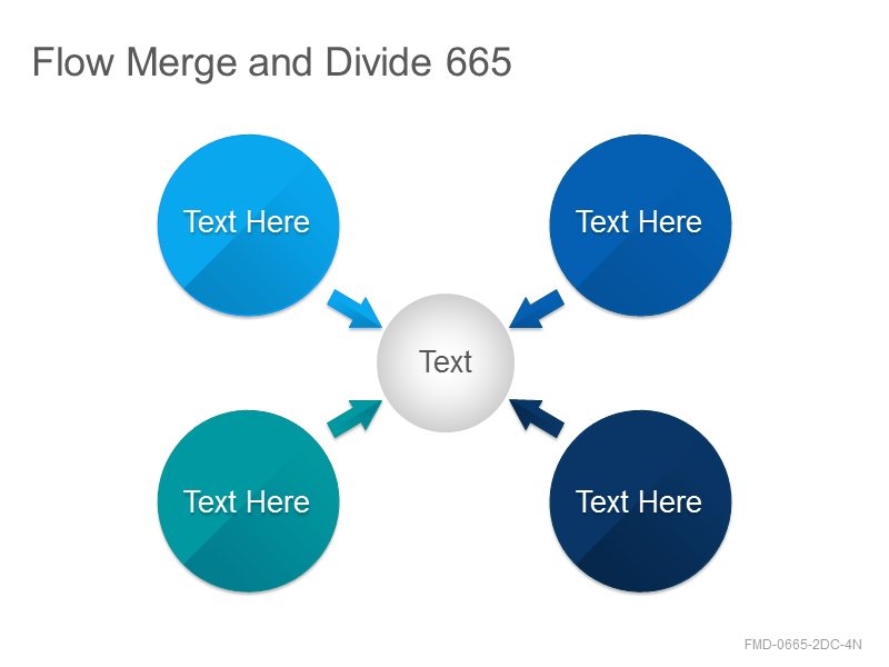 Flow Merge and Divide 665