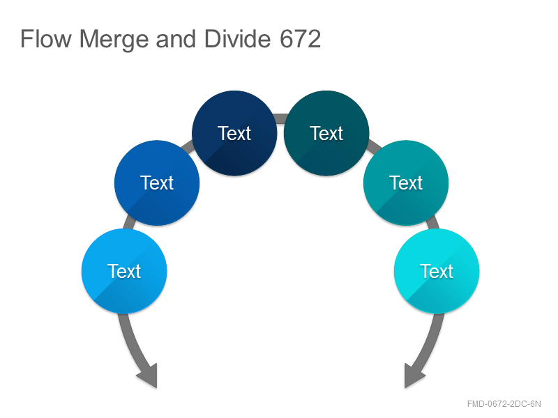 Flow Merge and Divide 672