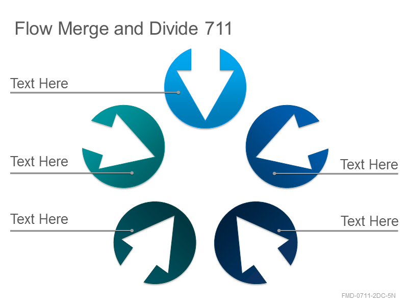 Flow Merge and Divide 711