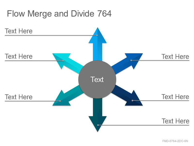 Flow Merge and Divide 764