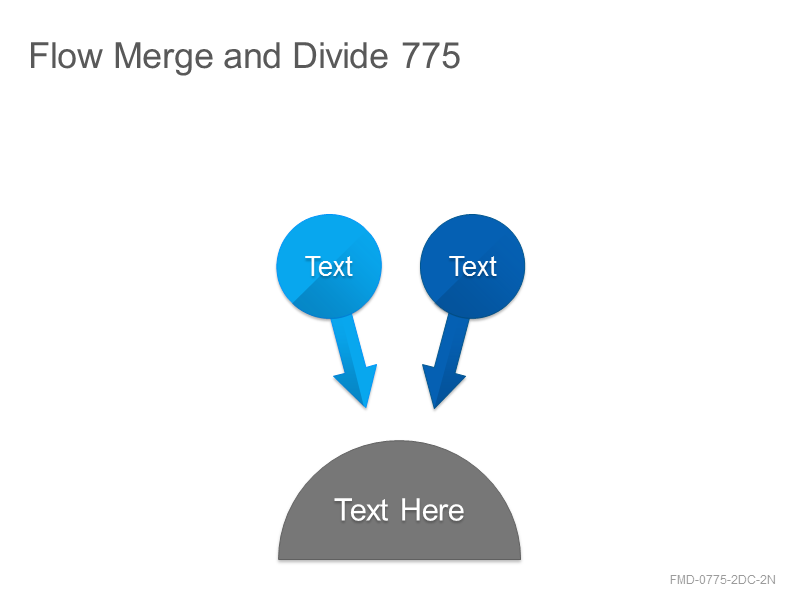 Flow Merge and Divide 775