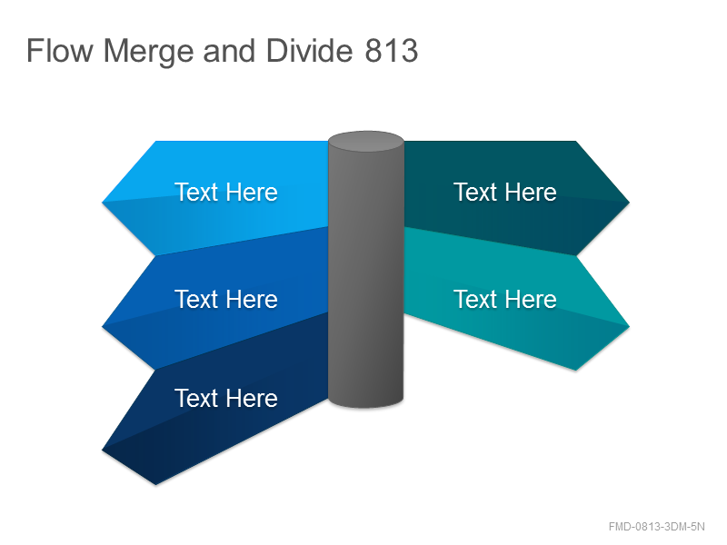 Flow Merge and Divide 813