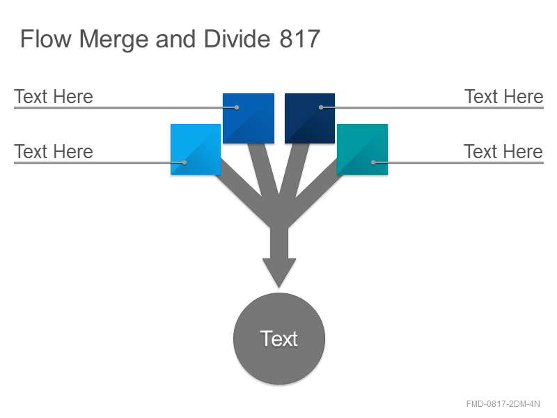 Flow Merge and Divide 817