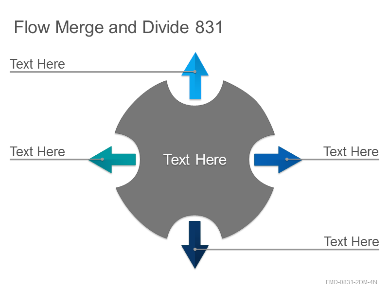 Flow Merge and Divide 831