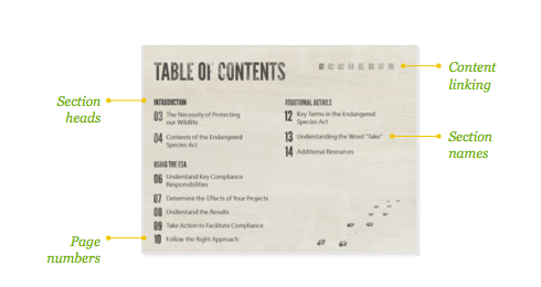 How to Write a Table of Contents in APA Format